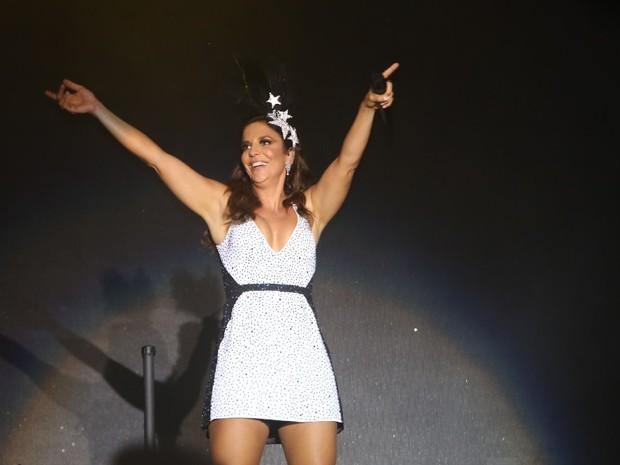 Ivete Sangalo se apresenta no Festival de Verão de Salvador, na Bahia (Foto: Fred Pontes/ Foto Rio News)