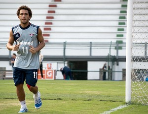 Wellington Nem treino Fluminense (Foto: Bruno Haddad / Fluminense. F.C.)
