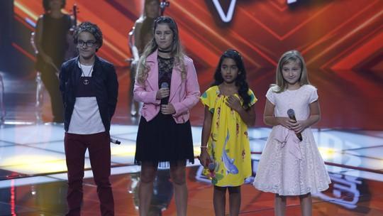 Time Brown abre Shows ao Vivo e Brunno Pastori e Isadora Ferreira seguem no 'The Voice Kids'