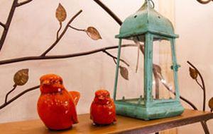 Azul e laranja: juntas ou isoladas, cores são hits de decoração