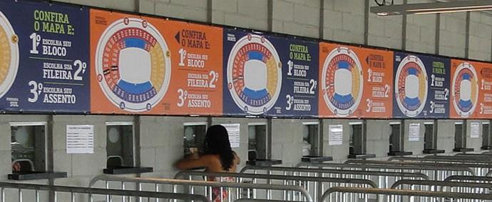 bilheterias do Mineirão, venda de ingressos Cruzeiro x América-MG (Foto: Marco Antônio Astoni)