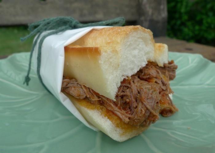 Sanduíche de carne louca (Foto: Divulgação)