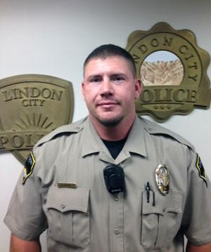 O policial Joshua Boren em foto de arquivo da polícia de Utah, nos EUA (Foto: Policía de Lindon City/AP)