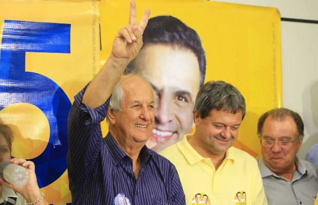 Mané de Oliveira foi o deputado estadual mais votado em 2014 em Goiânia, Goiás (Foto: Wildes Barbosa/O Popular)