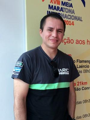 Gustavo Cavañas Meia Maratona do Rio de Janeiro Eu Atleta (Foto: Samantha Bonnel)