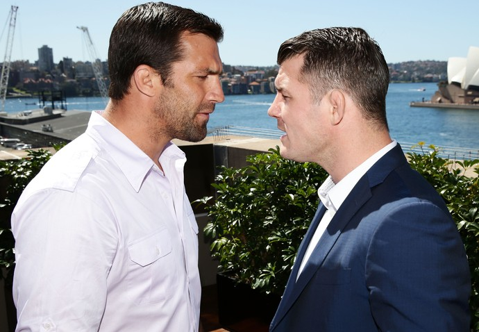 UFC Luke Rockhold x Michael Bisping (Foto: Agência Getty Images)