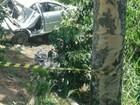 Idosa morre e duas pessoas ficam feridas em acidente, no Sul do ES