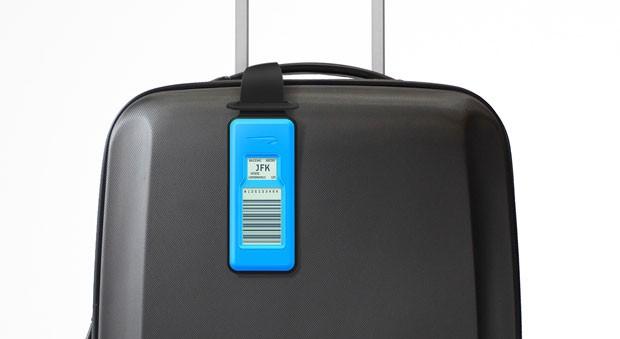 Resultado de imagem para etiquetas de bagagem eletrônicos