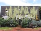 Monumento histórico é alvo de vandalismo em Campo Grande