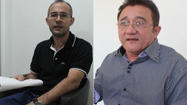 Giuliano Ramos e Galba Coelho - Bolsa Atleta Municipal (Foto: GLOBOESPORTE.COM)