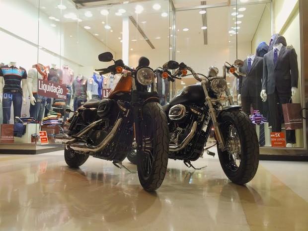 CenterVale vai sortear duas motos Harley Davidson (Foto: Fábio França/G1)