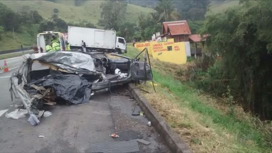 Haitianos morrem após batida entre dois veículos na BR-381, em Cambuí