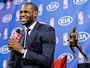 nica primeira escolha diferente de LeBron, Carmelo elogia MVP: &#39;Merece&#39;