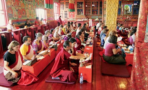 Inicie-se no budismo num templo na Serra Gaúcha (Foto: Divulgação)