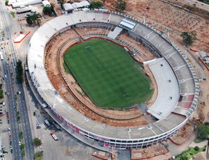 Obras no Beira-Rio para a Copa (Foto: Alexandre Lops / Inter, DVG)