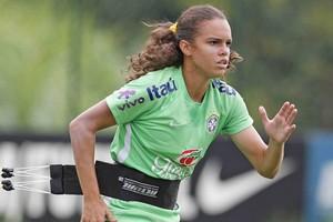Ana Vitória; Futebol Feminino (Foto: Rafael Ribeiro/CBF)