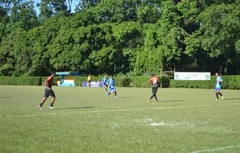 Marcinho decide de novo e Santão vence time amador em jogo-treino