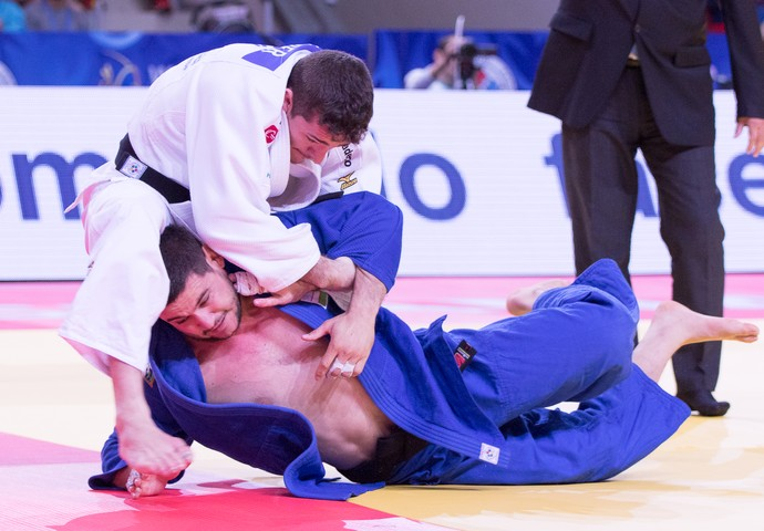 Victor Penalber Mundial de Astana judô (Foto: Rafal Burza/CBJ)