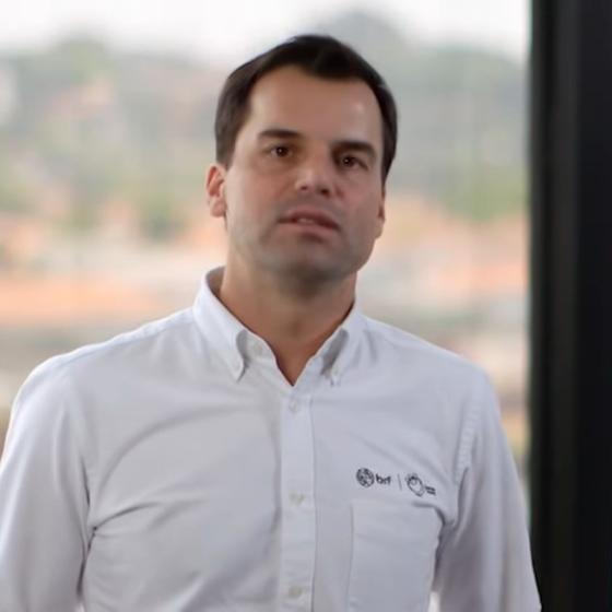 O CEO da BRF Pedro Faria (Foto: Reprodução/ Youtube)