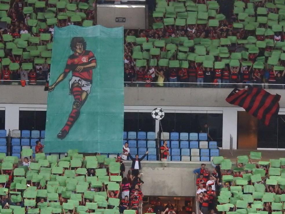 Mosaico - Flamengo x Atlético-PR (Foto: Fred Gomes)