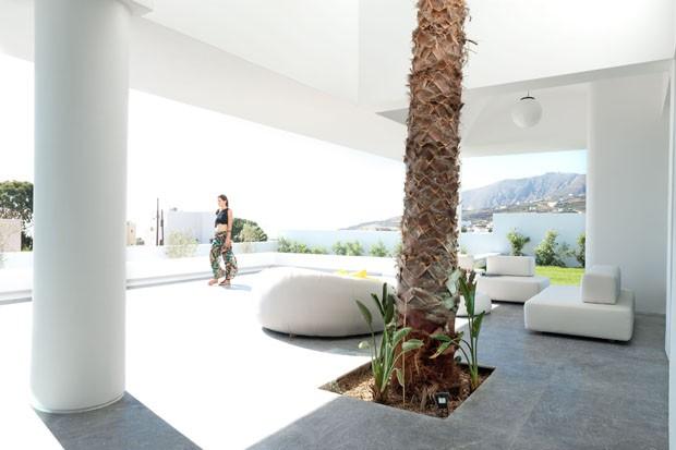 Casa Santorini (Foto: Julia Klimi/Divulgação)