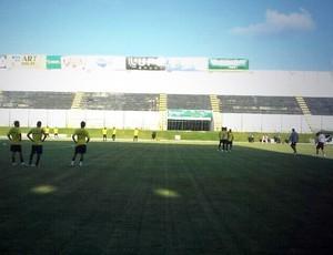 ABC terá dez mudanças para enfrentar o Globo FC no Campeonato Potiguar (Foto: Divulgação/ABC)