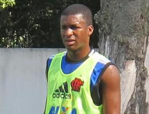 Erazo treino Flamengo (Foto: Thales Soares)