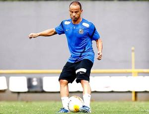 Leo treino Santos (Foto: Ricardo Saibun / Divulgação Santos FC)