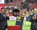 """Após brilhar contra o Sevilla, Tevez diz: """"Não penso em voltar à Europa"""""""