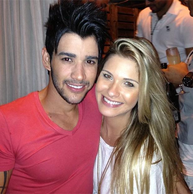 Gustavo Lima e Andressa (Foto: Reprodução/Instagram)