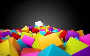 papel de parede colorido