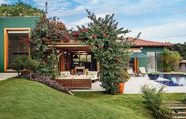 Paleta floral casa e jardim paisagismo for Casas e jardins simples