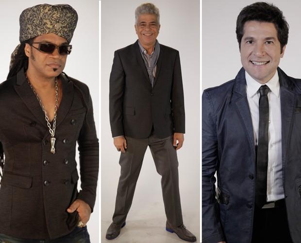 Looks técnicos (Foto: The Voice Brasil/TV Globo)