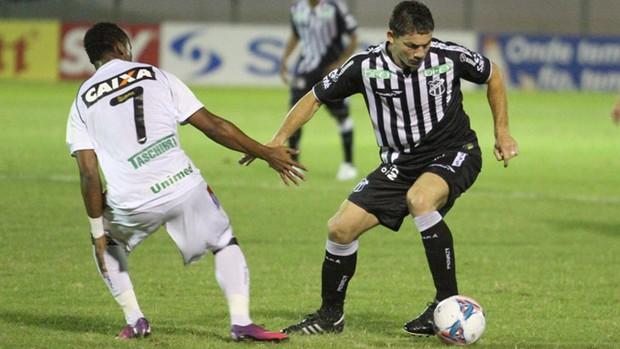 Figueirense Ceará empate Tinga Mota (Foto: Divulgação/Ceará SC)