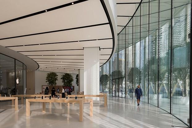 Nova loja de Apple em Dubai é pura ostentação arquitetônica (Foto: Divulgação)