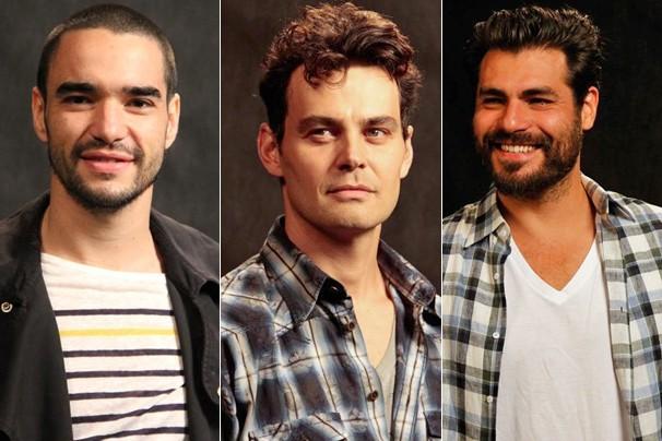 Veja o visual de Caio Blat, Carmo Dalla Vecchia e Thiago Lacerda para seus personagens em Joia Rara (Foto: Nathalia Fernandes/Globo)