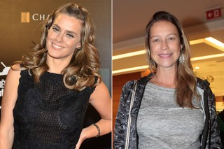 Carolina Dieckmann / Luana Piovani (Foto: Roberto Teixeira / EGO - Isac Luz / EGO)
