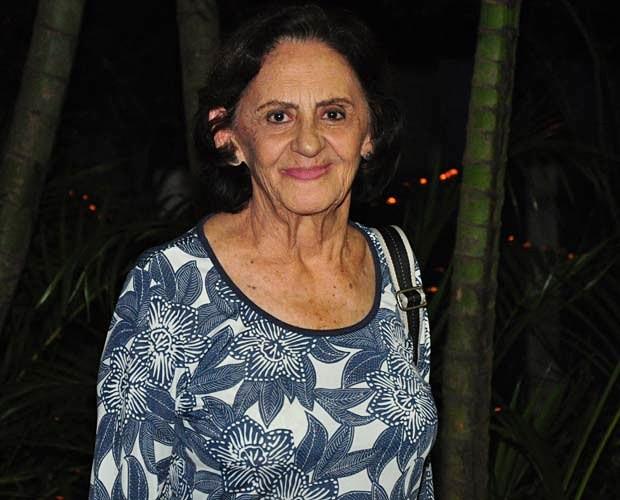 Dona Laura fala sobre o bordão de Dorotéia:  (Foto: Gabriela / TV Globo)