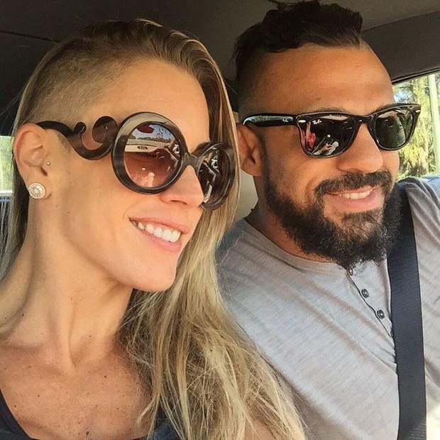 Joana Prado e Vitor Belfort (Foto: Reprodução/Instagram)