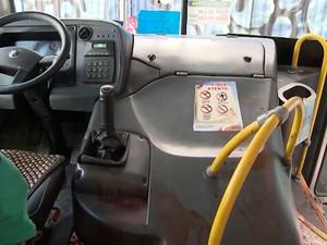 Assalto em ônibus na BR-324, Salvador, Bahia 22.07.16 (Foto: Reprodução/ TV Bahia)