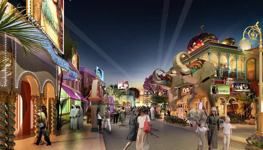 Uma das atrações será um parque inspirado em Bollywood (Foto: Divulgação)