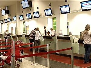 Aeroporto de Uberlândia registra mais um dia de atraso nos voos. (Foto: Reprodução/TV Integração)