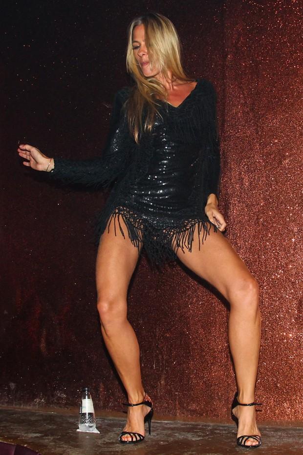 Adriane Galisteu na festa de lançamento de seu perfume (Foto:  Manuela Scarpa/Photo Rio News)