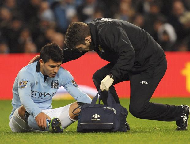 Sergio Agüero Manchester City (Foto: EFE)