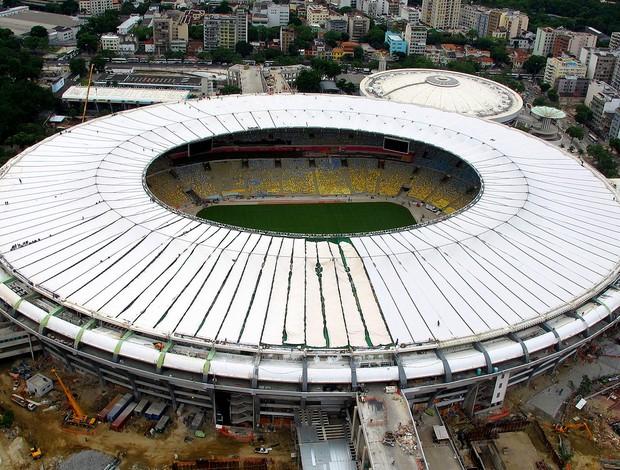 cobertura estádio maracanã (Foto: Genílson Araújo / Agência O Globo)