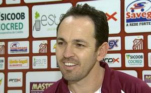 Moisés Egert, técnico do Sertãozinho (Foto: Reprodução EPTV)