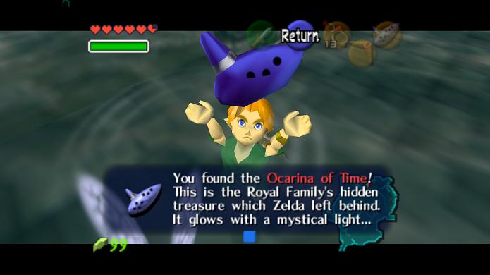 Ocarina pode ser usada para tocar músicas famosas (Foto: Reprodução/Thiago Barros)