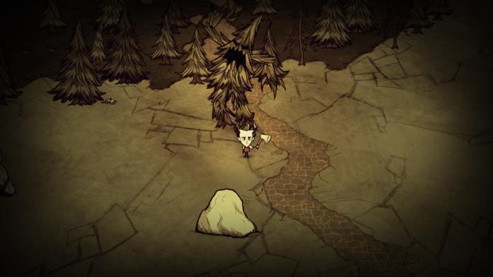 Treeguards podem ter três tamanhos diferentes (Foto: Divulgação/Dont Starve Game)