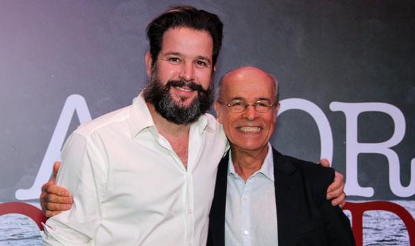 Em Amores Roubados, Murilo Benício e Osmar Prado serão grandes amigos (Foto: Amanda Freitas/Globo)