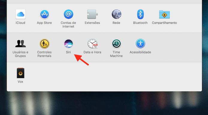 Opções para Siri no Mac OS Sierra (Foto: Reprodução/Marvin Costa)